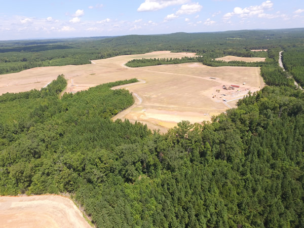 Southern VA Mega Site at Berry Hill aerial photo