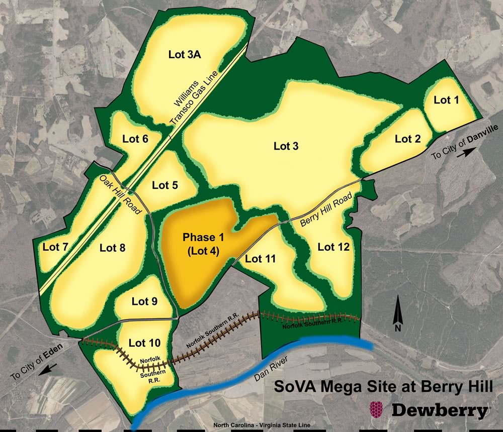 Southern Virginia Mega Site sitemap